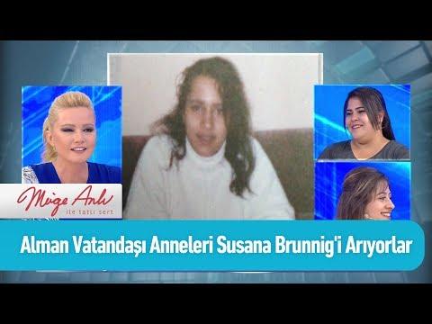Alman Vatandaşı anneleri Susana Brunnig'i arıyorlar - Müge Anlı ile Tatlı Sert 19 Haziran 2019