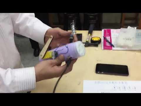 USB手搖充電式手電筒-附行動電源功能 - YouTube