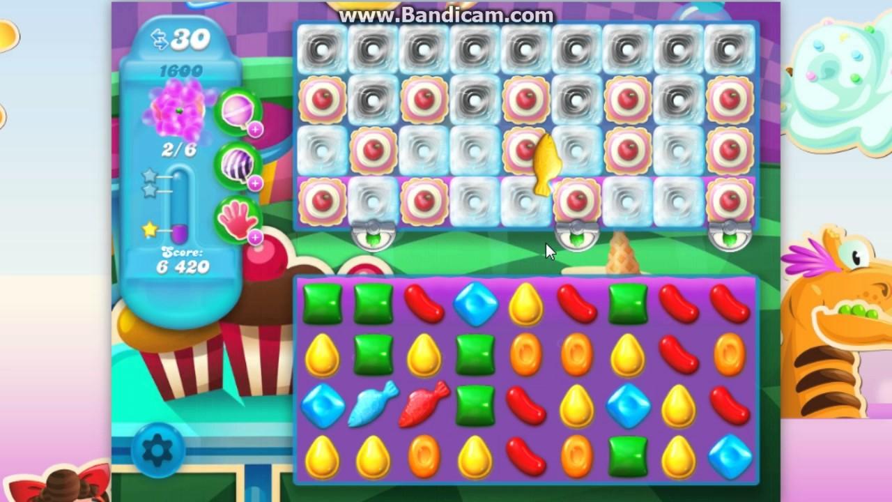 Candy crush soda saga level 1600 youtube - 1600 candy crush ...
