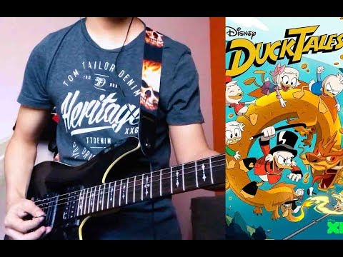 Duck Tales theme song guitar cover