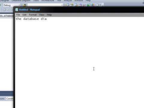 I cannot create database diagram in visual studio 2010 - YouTube