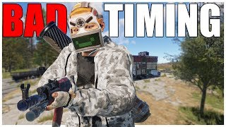 Rust - We got ONLINE RAIDED at WORST time POSSIBLE
