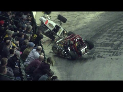 Battle of Trenton - 2/27/2016 - TQ Midgets