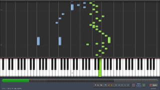 Synthesia - Mozart - Piano Sonata No. 1 in C major, K. 279