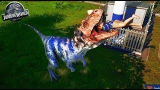SE COME A LA GENTE DEL PARQUE!! XDD - Jurassic World - Nexxuz