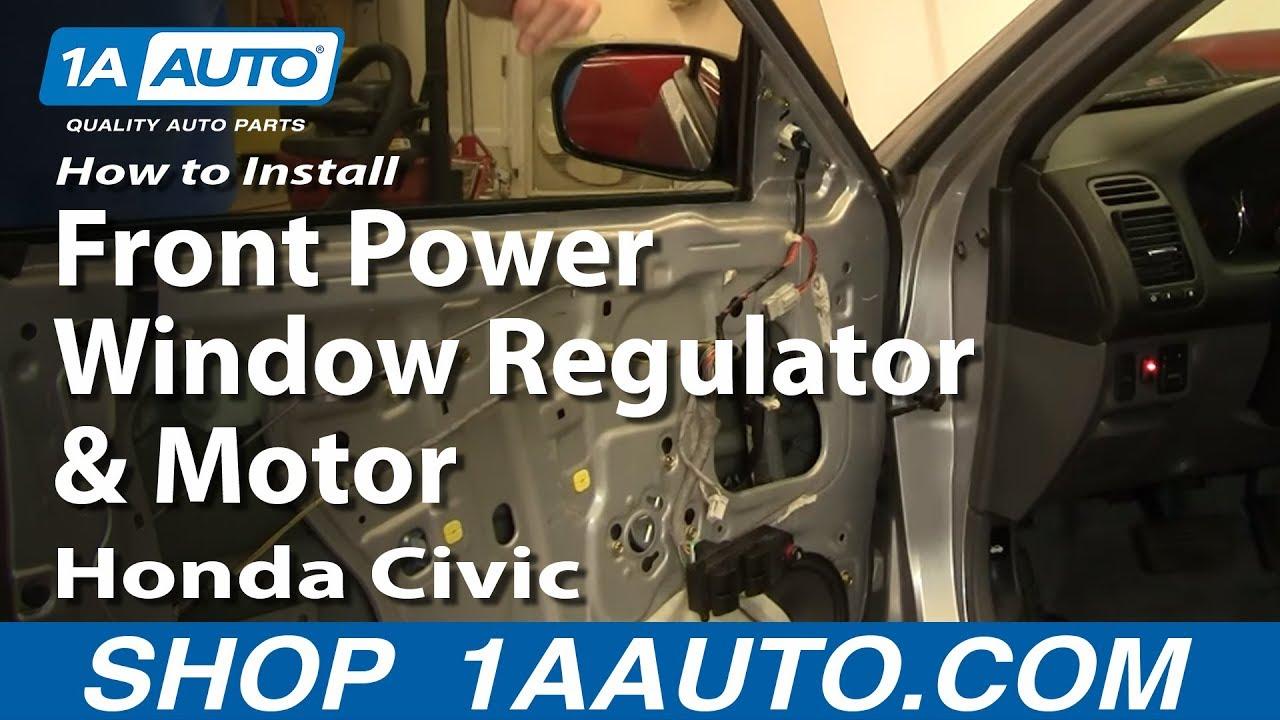 medium resolution of civic window motor diagram wiring diagram for you civic window motor diagram