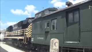 S6 ep 40 the Mad River and NKP Railroad Museum Bellevue Ohio 7-23-16