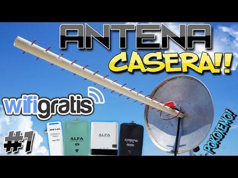 """Como Hacer una Antena Wifi Yagi Casera Facil """"Bien Explicado"""""""