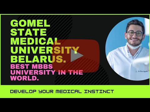 GOMEL State Medical University of Belarus  ASIA PACIFIC EDUCATION COUNCIL
