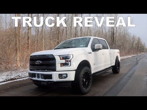 THE UPGRADED F150 REVEAL!!!