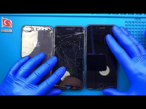 iphone 8 plus ekran kasa batarya arka cam kapak deiimi
