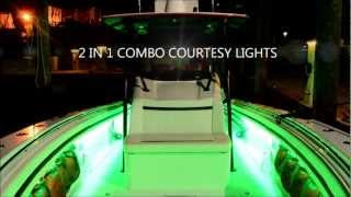 FLO LED Boat Lights - Under Gunnel LED Boat Lighting