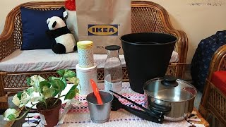 IKEA HYDERABAD|| IKEA's FIRST SHOPPING HAUL||HOME FURNISHINGS