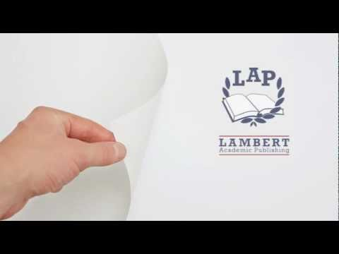 Позвольте представить - LAP Lambert Academic Publishing!