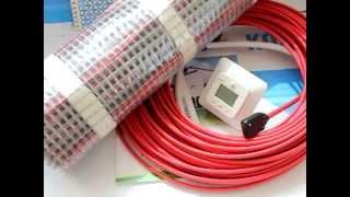 теплый пол Ensto, обзор продукции, нагревательный кабель Tassu, ThinKit, нагревательный мат ThinMat