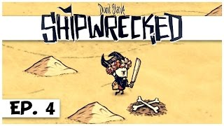 Don't Starve: Shipwrecked - Ep. 4 - X Marks the Pirate Treasure Chest! - Let's Play - Gameplay