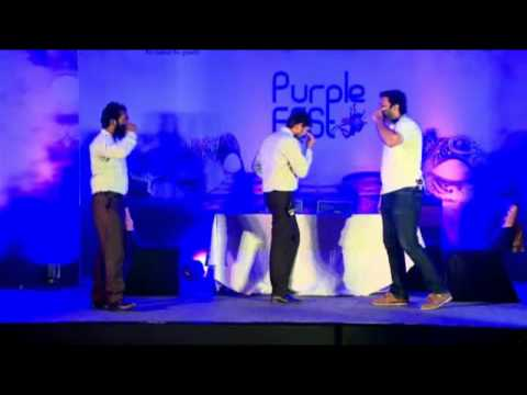 Purple fest - Chennai skit _ The Real Office