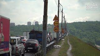 Автомобільний рух у Нижньому Новгороді ускладнилось їх початку ремонту мосту Мызинского