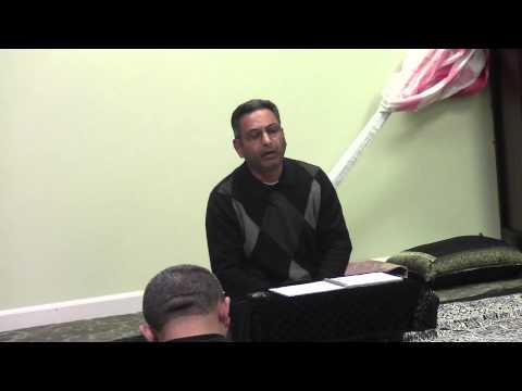 Jab Yaad Sakina ko recited by Janab Abid Ali Sahab Muharram 1435 Nov 2013