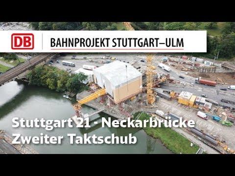 Neckarbrücke Stuttgart – Zweiter Taktschub