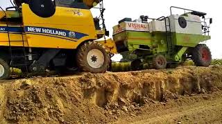 New holland combine tochan