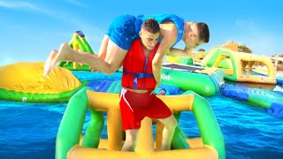 WWE MOVES AT THE WATER PARK thumbnail