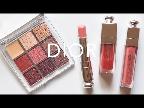 Dior Rosewood | Lip Glow Oil, New Lip Glow and Backstage Palette