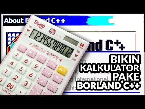 Cara Buat Kalkulator C++