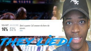 They told me that this was the easiest nba quiz ever... they lied!