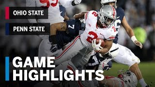 Highlights: Ohio State Buckeyes vs. Penn State Nittany Lions | Big Ten Football