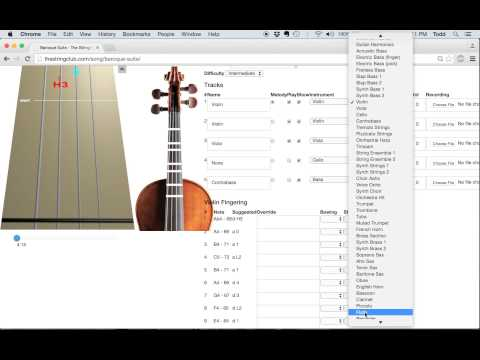 How to Upload Music (MIDI files) to The String Club