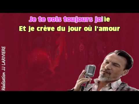 FLORENT PAGNY   CA FAIT DES NUITS I G JJ Karaoké - Paroles