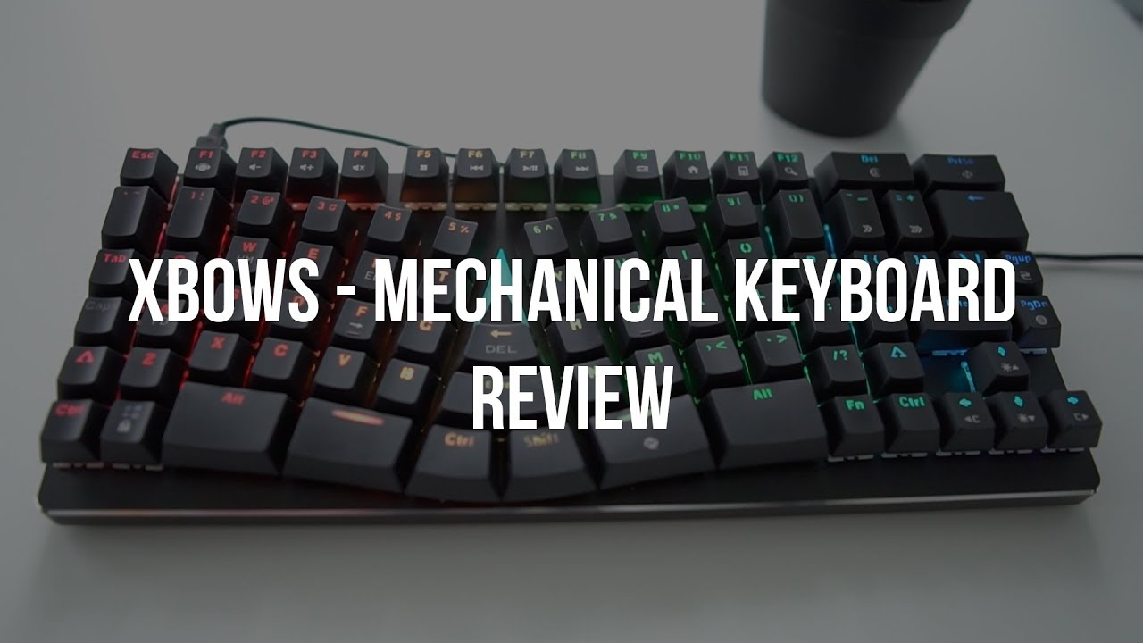 X-Bows Ergonomic Keyboard - Programmers Review