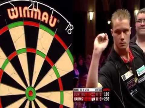 Darts World Masters 2012 Semi Final Bunting vs Harms