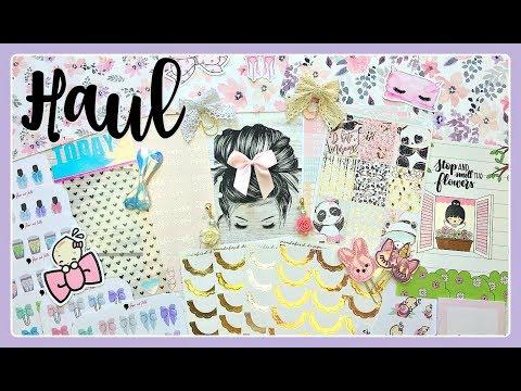 Planner Haul / Stickers, Accessories & Supplies