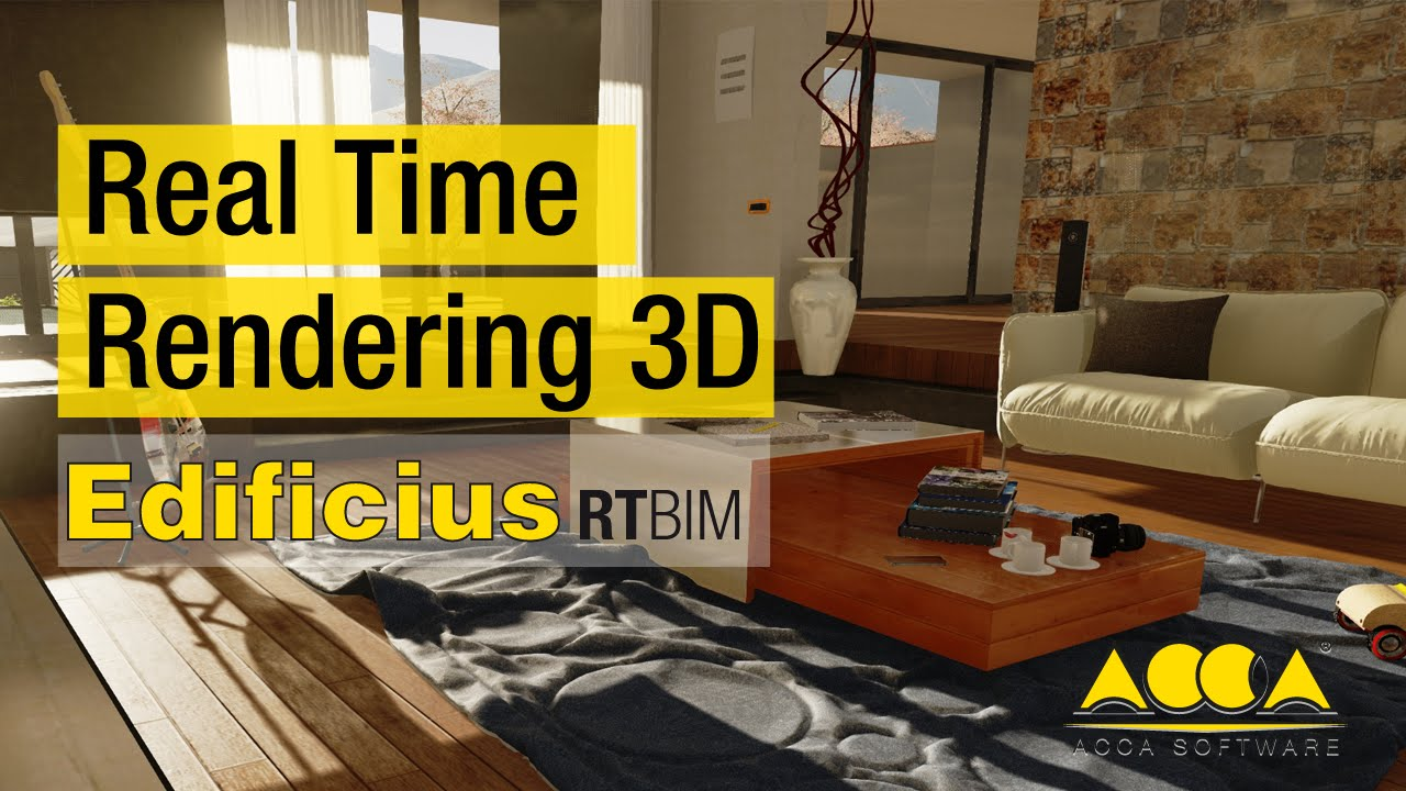 Software real time rendering 3d per architettura 01 youtube for Software per rendering