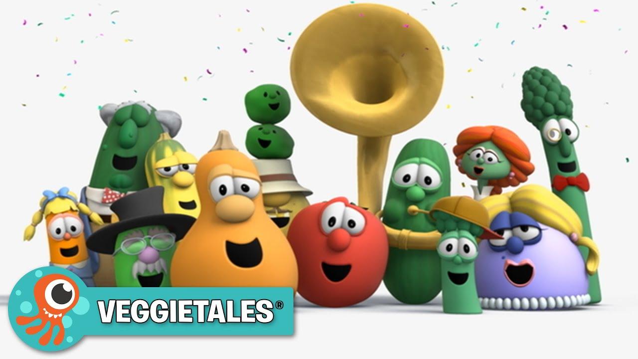 Veggietales Theme Song Jellytelly Youtube