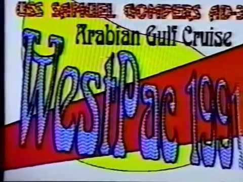 USS Samuel Gompers AD-37 1991 Arabian Gulf WestPac (Part 1)