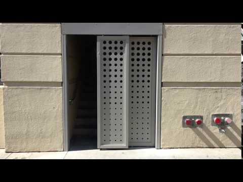 Crown Industrial Projects: Telescoping Self-Opening Sliding Doors