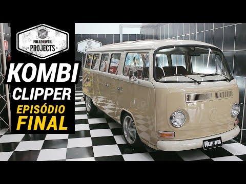 Fullpower Projects Volkswagen Kombi Clipper 1987 Pronta Para O