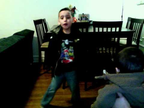 Daniel singing rocking robin