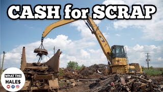 CASH for SCRAP I Bought Abandoned Storage Unit Locker / Opening Mystery Boxes Storage Wars Auction