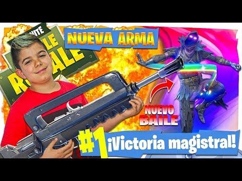 GANO CON LA FAMAS Y COMPRO EL BAILE SALTO A LA FAMA!!! En Fortnite
