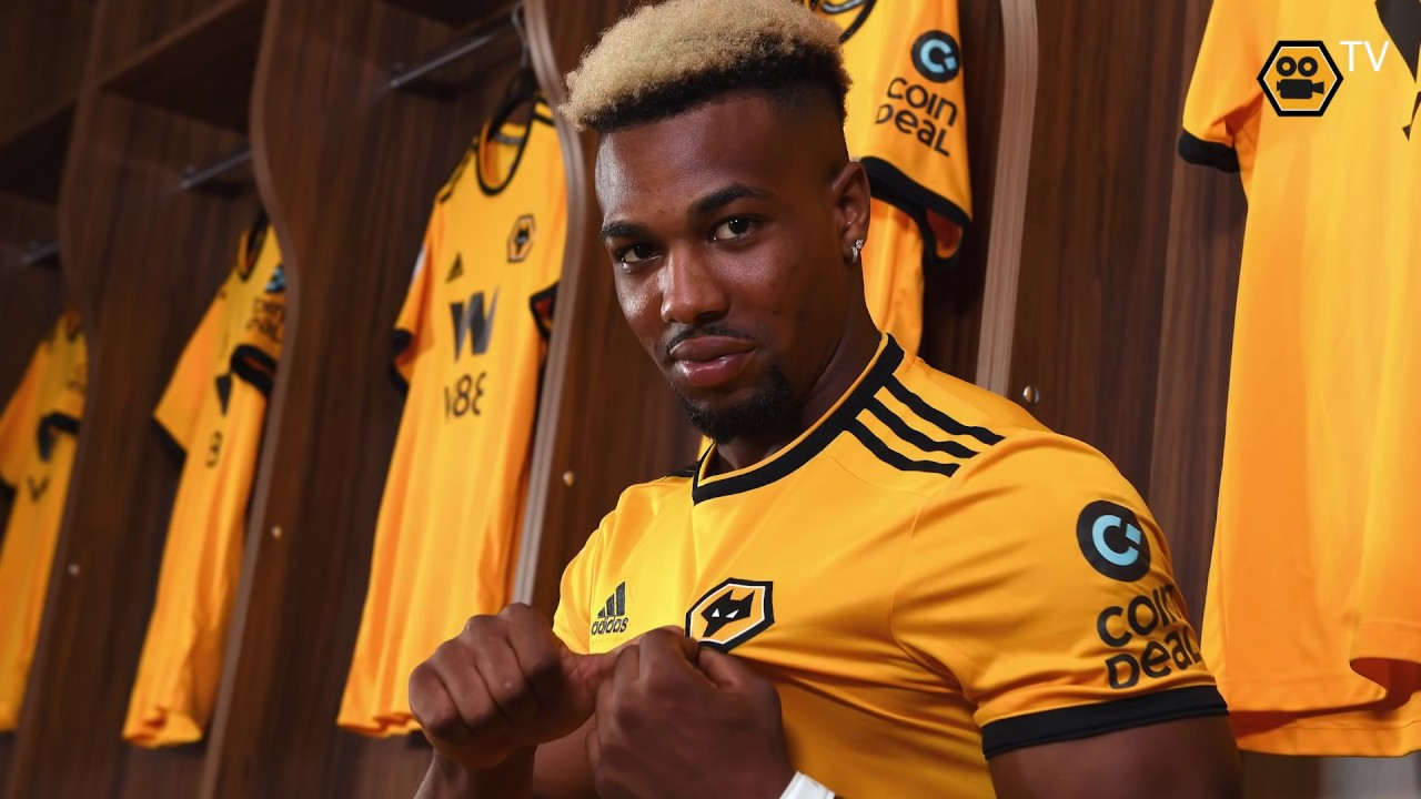 Adama Traore S First Wolves Interview Youtube