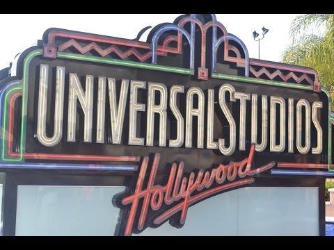 Paseo de los Estudios Universales en Hollywood