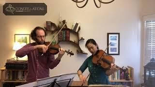 Joseph Maile & Pei-Ling Lin: Martinu Madrigals, III. Allegro