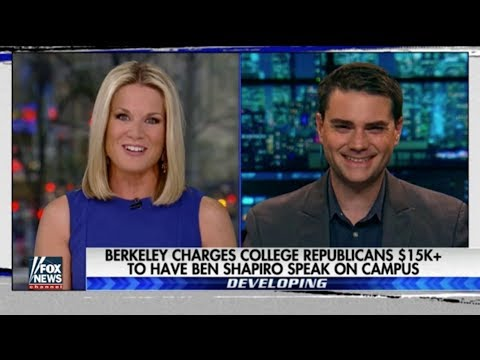 Berkeley Charges College Republicans $15K to Have Ben Shapiro Speak on Campus