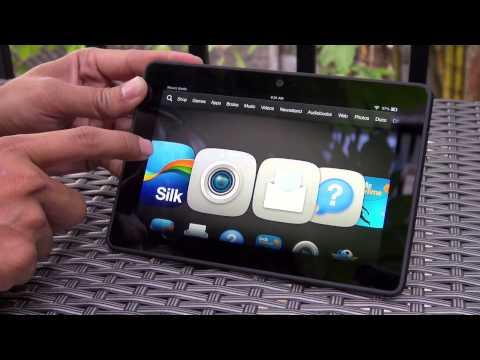 "Tinhte.vn - Trên tay Kindle Fire HDX 7"""