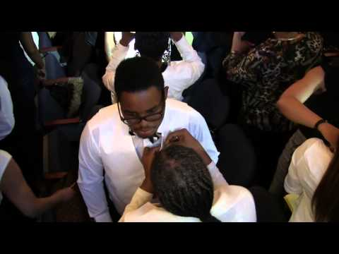 MrSan44Man @ His Son Pinning @ Central Collegiate Academy Pt 2 (Detroit Raw)