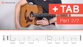 Learn How To Play Percussive Fingerstyle - Advanced Percussion (2/2)